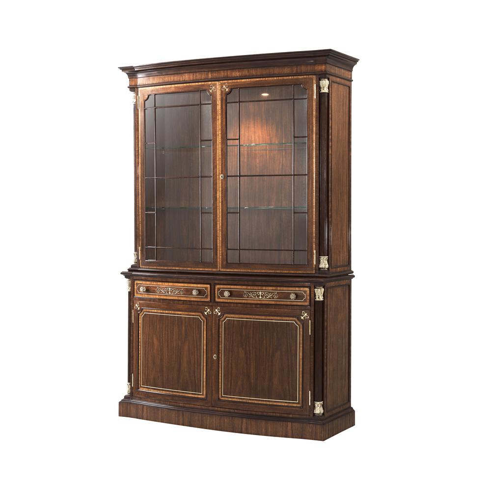 Theodore Alexander-Quick Ship - Brunswick Display Cabinet