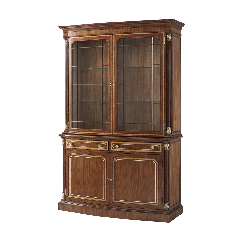 Theodore Alexander-Quick Ship - Brunswick Display Cabinet II