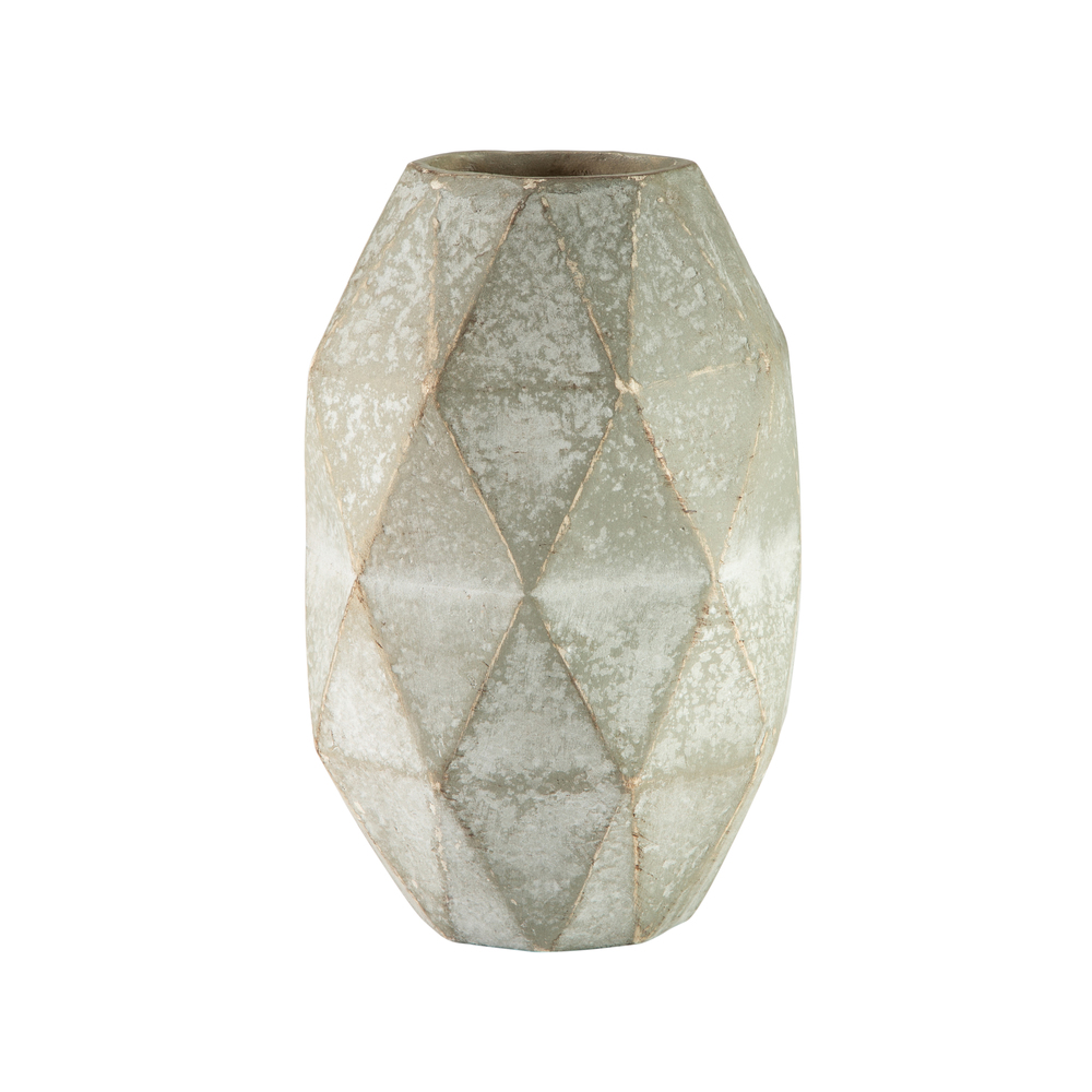 Theodore Alexander-Quick Ship - Diamond Small Cut Vase