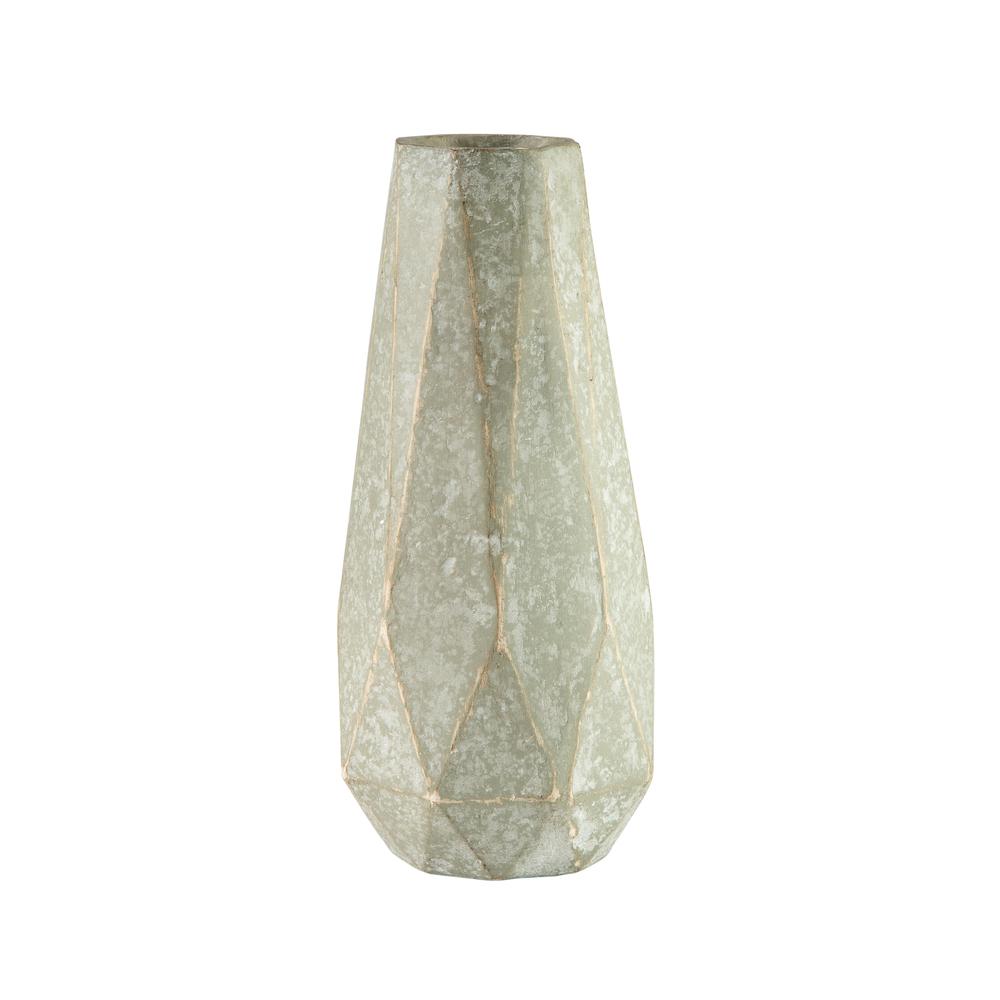 Theodore Alexander-Quick Ship - Diamond Taper Cut Vase