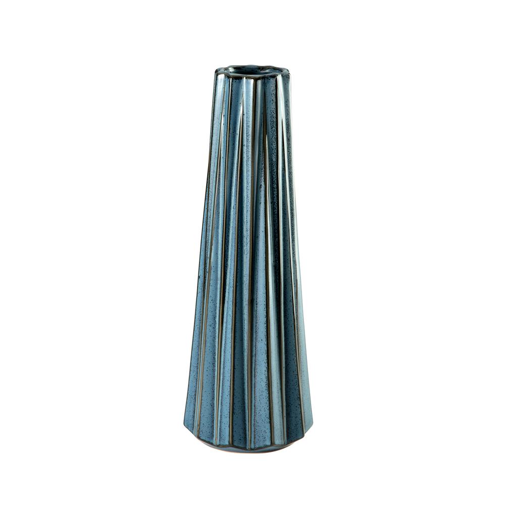 Theodore Alexander-Quick Ship - Alpine Blue Small Vase