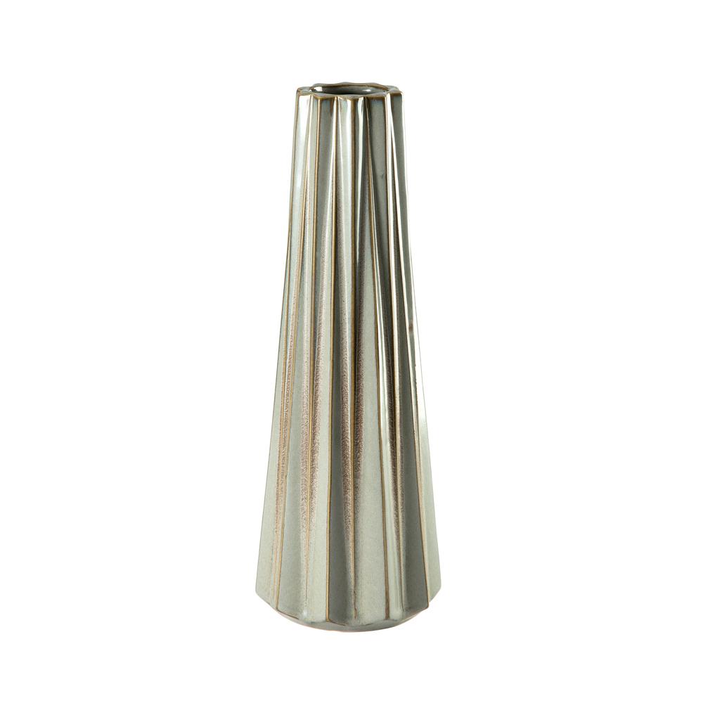 Theodore Alexander-Quick Ship - Alpine Wheat Small Vase