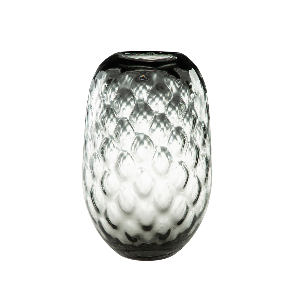 Theodore Alexander-Quick Ship - Wake Grey Tall Vase