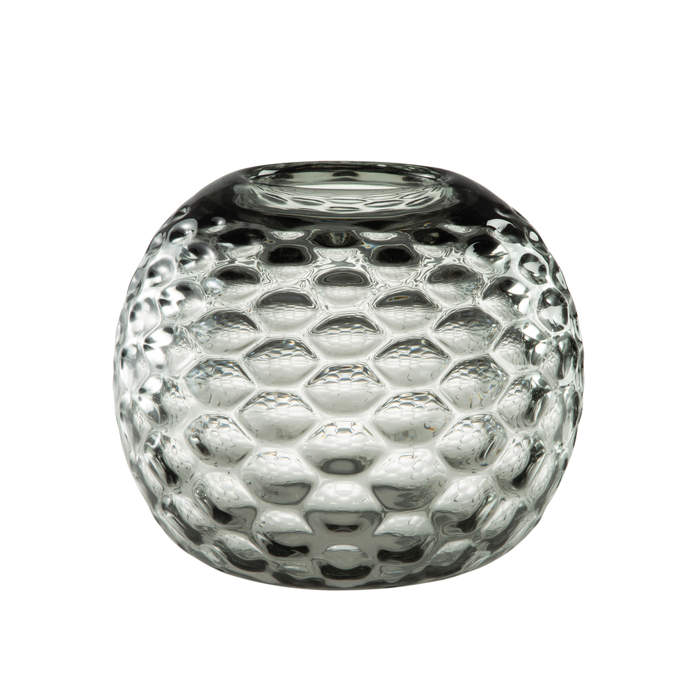 Theodore Alexander-Quick Ship - Wake Grey Low Vase