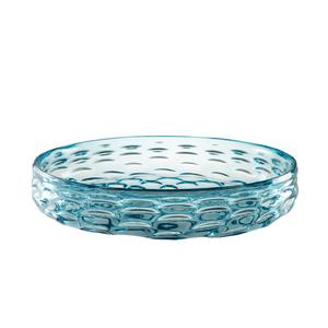 Thumbnail of Theodore Alexander-Quick Ship - Glass Wake Blue Bowl
