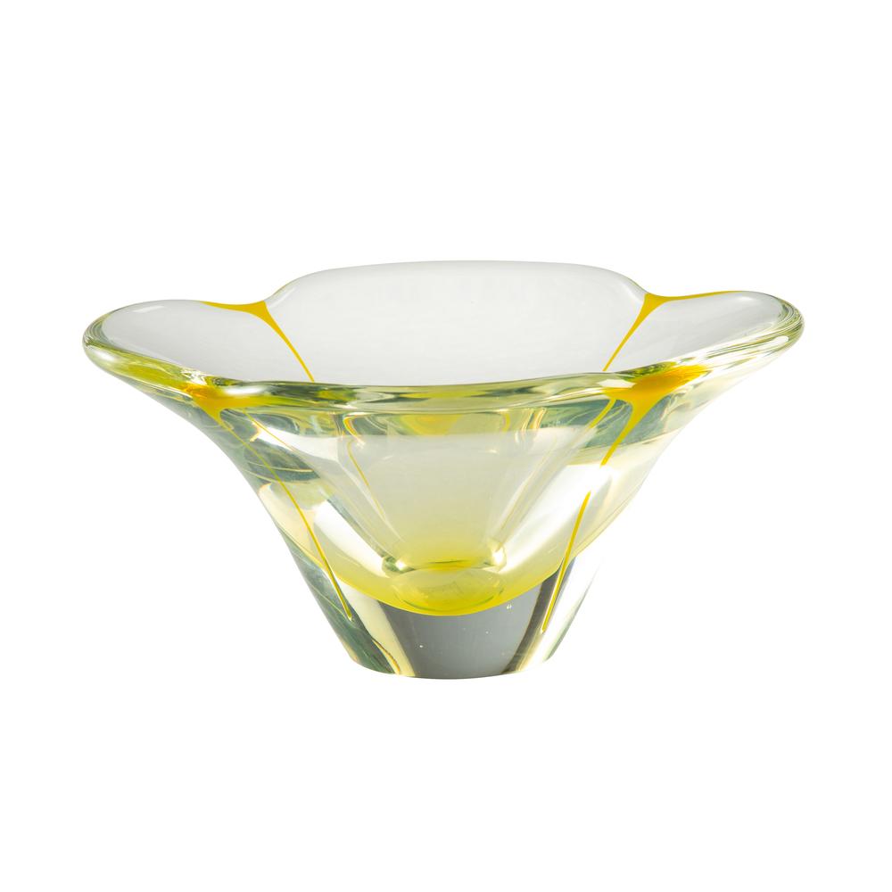Theodore Alexander-Quick Ship - Petal Yellow Small Bowl