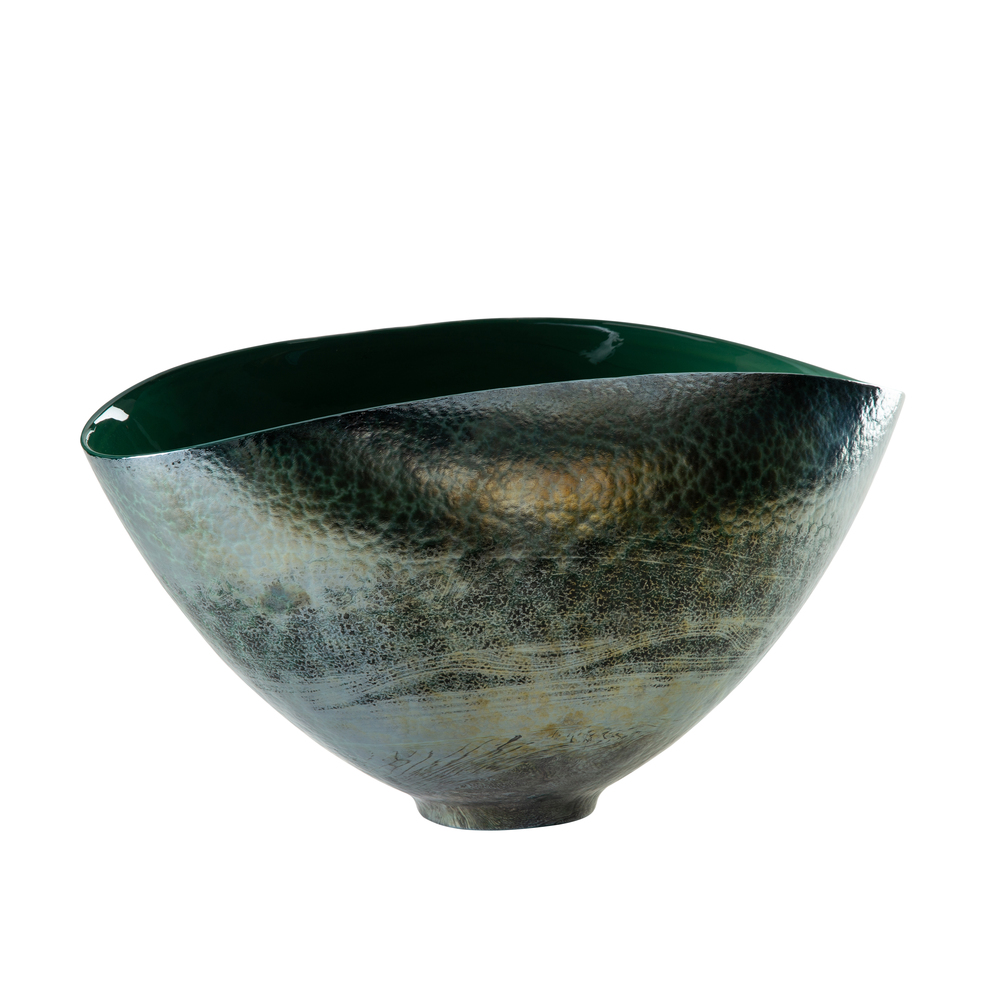 THEODORE ALEXANDER-QUICK SHIP - Glass Cyclone Bowl