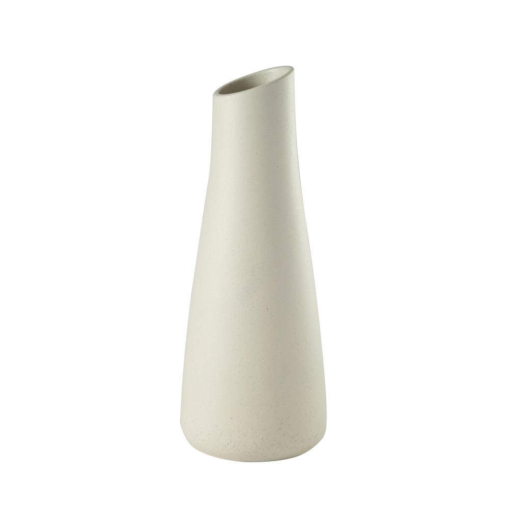 Theodore Alexander-Quick Ship - Baltic Small Lava White Vase