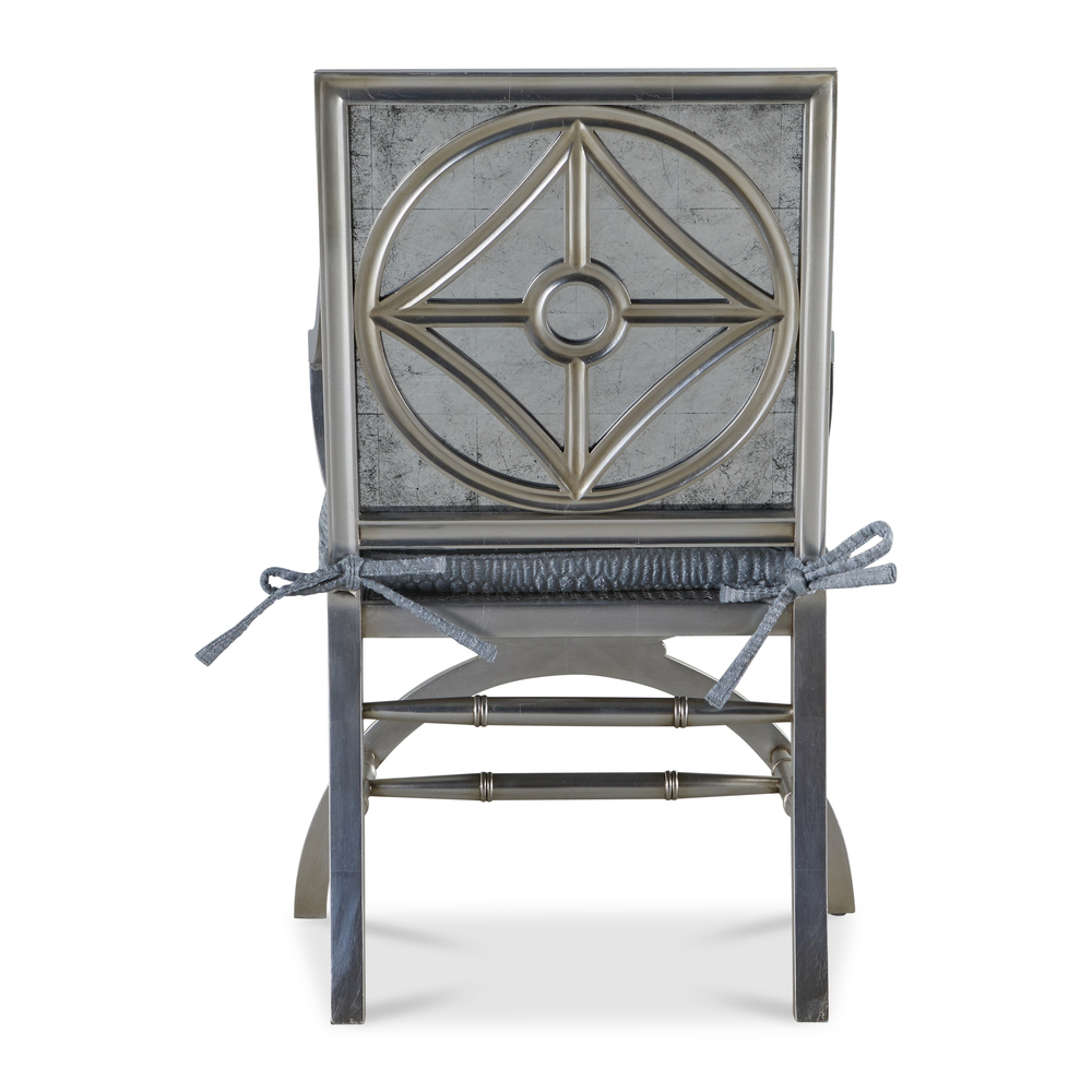 John Richard Collection - Arm Chair With Eglomise Arabes