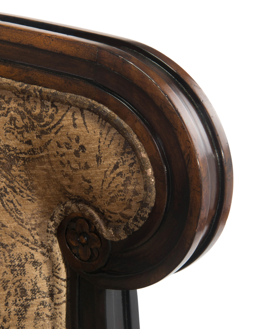 John Richard Collection - Carved Bergere Chair