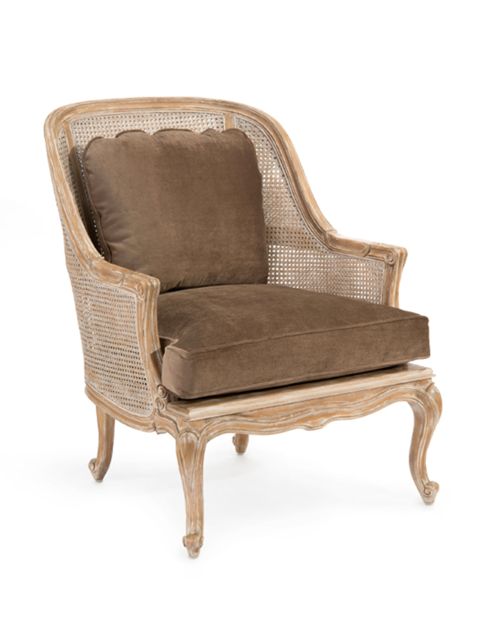John Richard Collection - Cane Back Bergere Arm Chair
