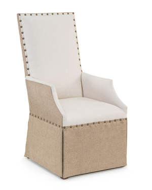 Thumbnail of JOHN RICHARD COLLECTION - High Back Dining Arm Chair