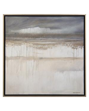 Thumbnail of John Richard Collection - Rick Anderson's Rainy Day at the Beach Art