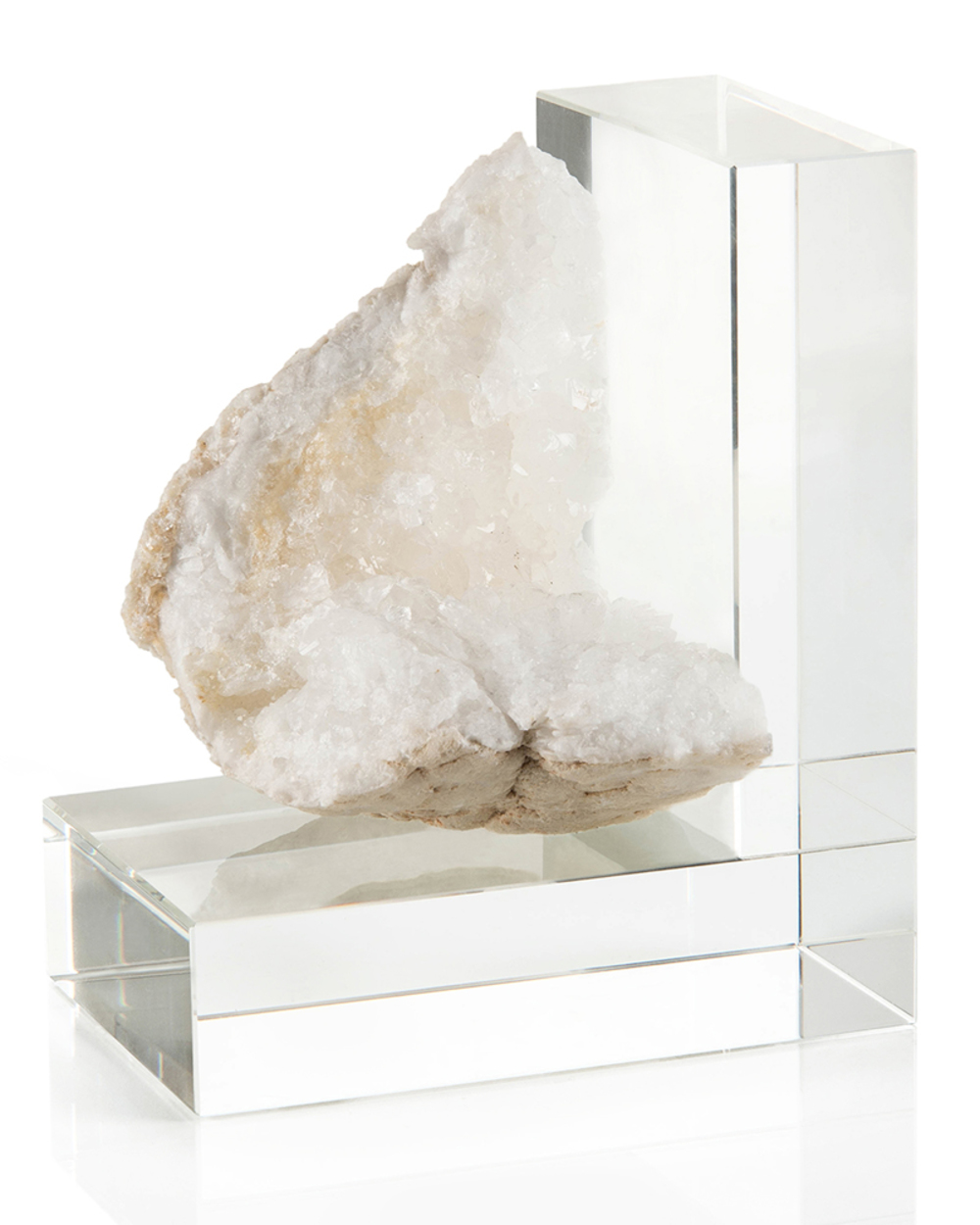 John Richard Collection - Crystal Bookend, Left