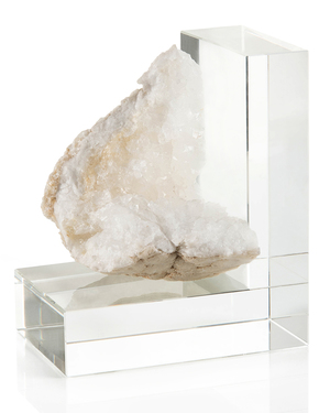Thumbnail of John Richard Collection - Crystal Bookend, Left