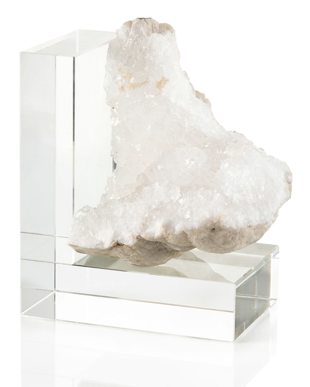 John Richard Collection - Crystal Bookend, Right