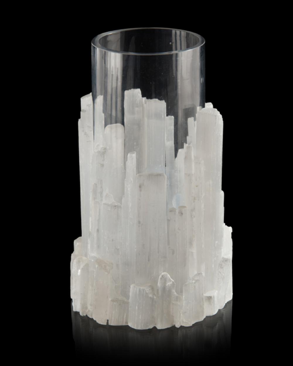 JOHN RICHARD COLLECTION - Natural Selenite Vase
