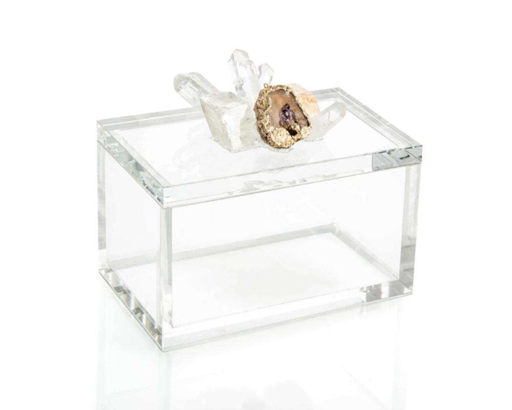 John Richard Collection - Crystal and Lemon Box