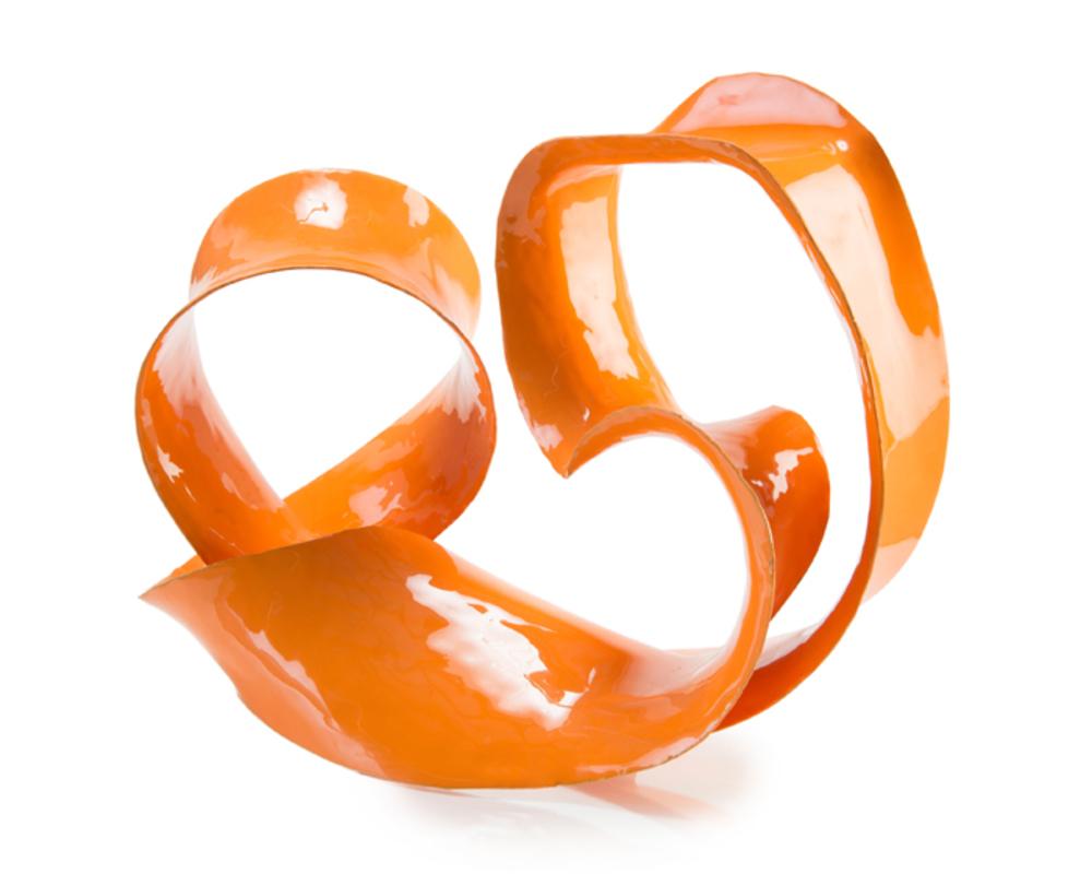 John Richard Collection - Ronaldo Sculpture, Orange