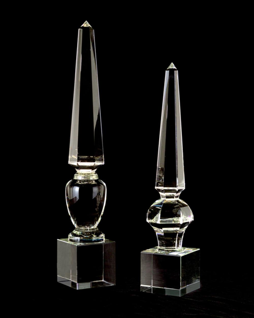 John Richard Collection - Lead Crystal Obelisk