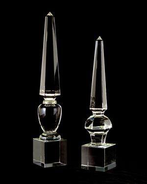 Thumbnail of John Richard Collection - Lead Crystal Obelisk