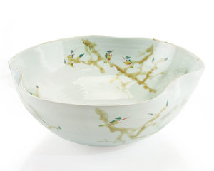 Thumbnail of John Richard Collection - Curled Rim XL Bowl, Greens