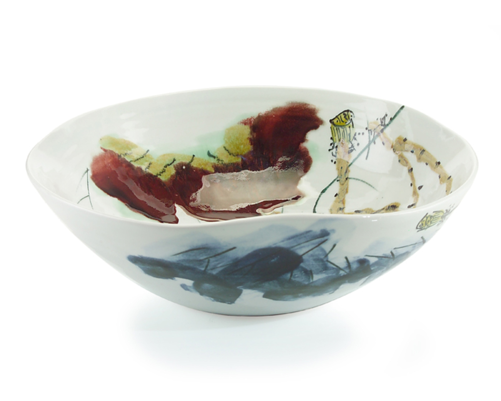 JOHN RICHARD COLLECTION - Curled Rim Medium Bowl