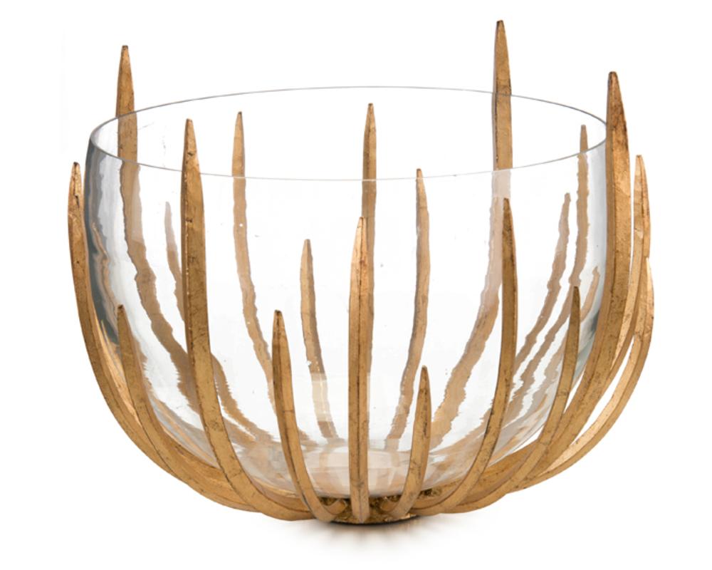 John Richard Collection - Gold Star Struck Bowl