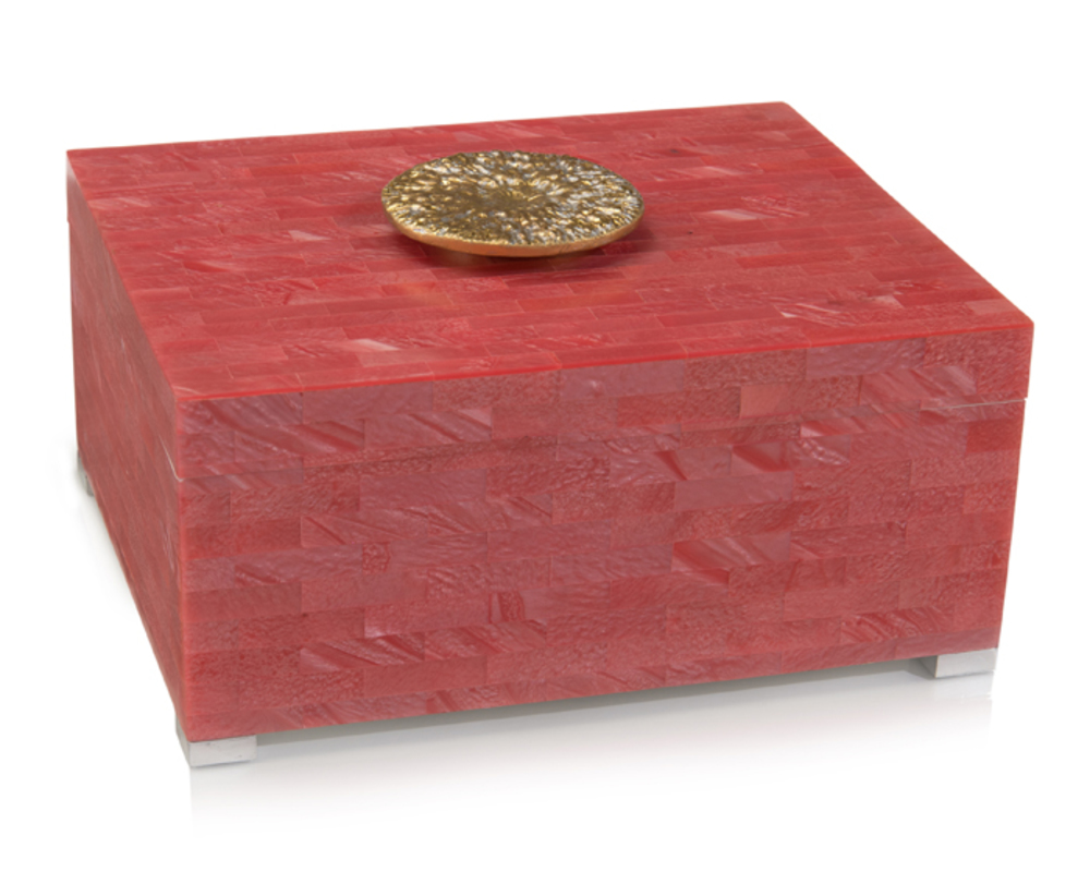 John Richard Collection - Palm Beach Coral Box