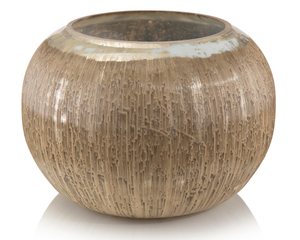 Thumbnail of JOHN RICHARD COLLECTION - Carved Soft Silver Vase