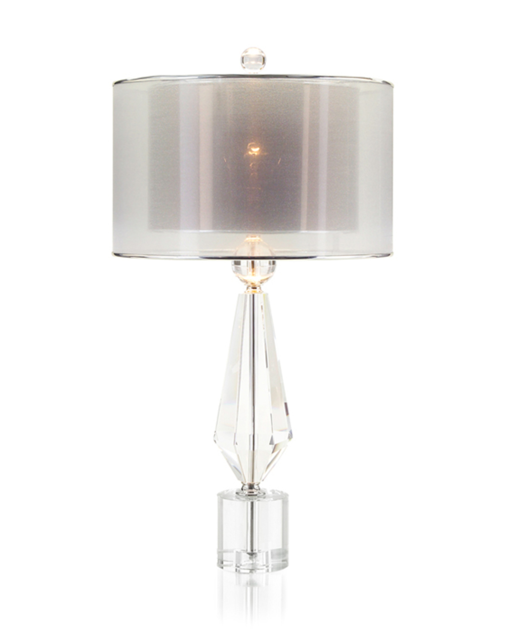 John Richard Collection - Sophisticated Crystal Lamp