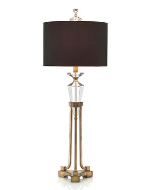 Thumbnail of John Richard Collection - Faceted Crystal on Stand Buffet Lamp
