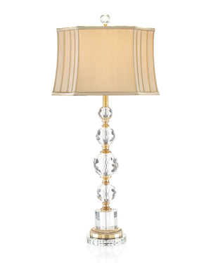 Thumbnail of John Richard Collection - Briolette Crystal Table Lamp