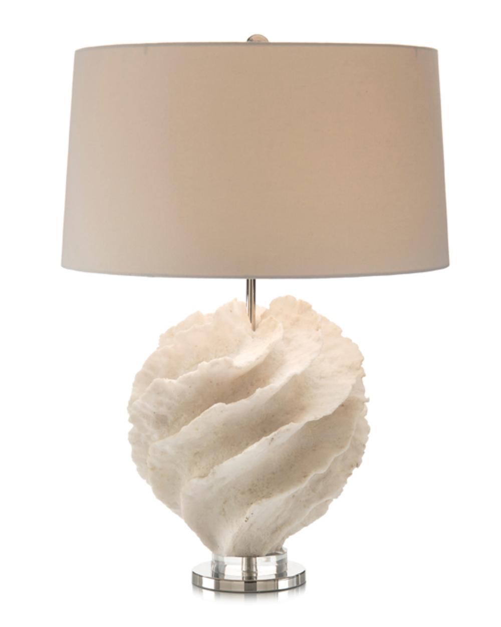 John Richard Collection - Rustic Spiral Table Lamp