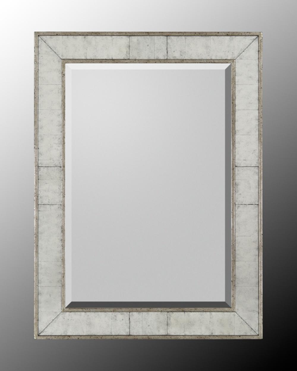 John Richard Collection - Silver Frame Beveled Mirror