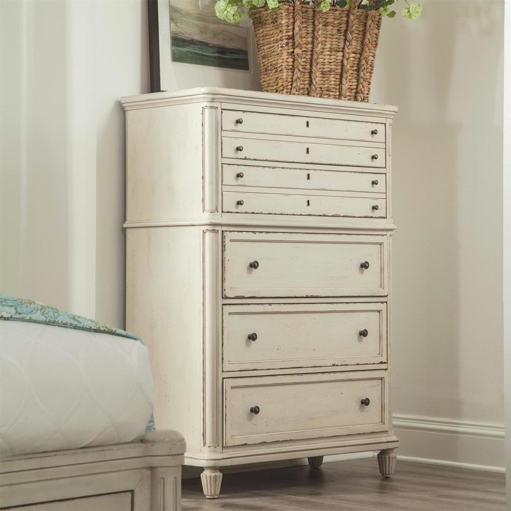 Riverside Furniture - Huntleigh Five Drawer Chest