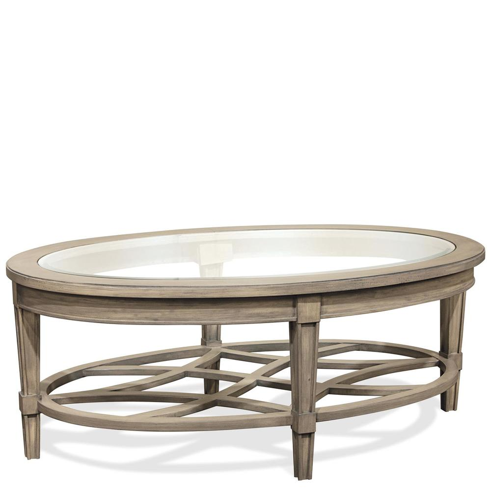 Riverside Furniture - Parkdale Oval Coffee Table