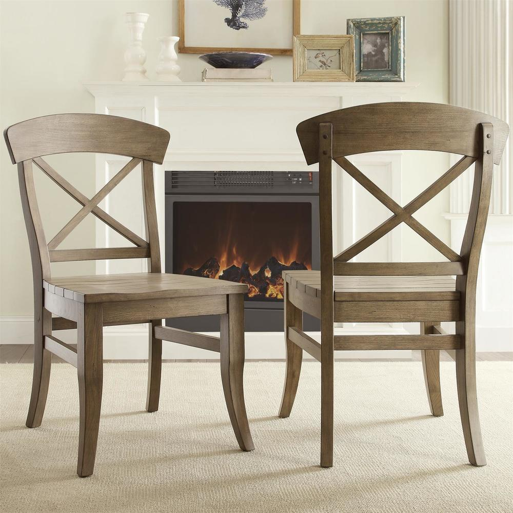 Riverside Furniture - Regan X-Back Side Chair