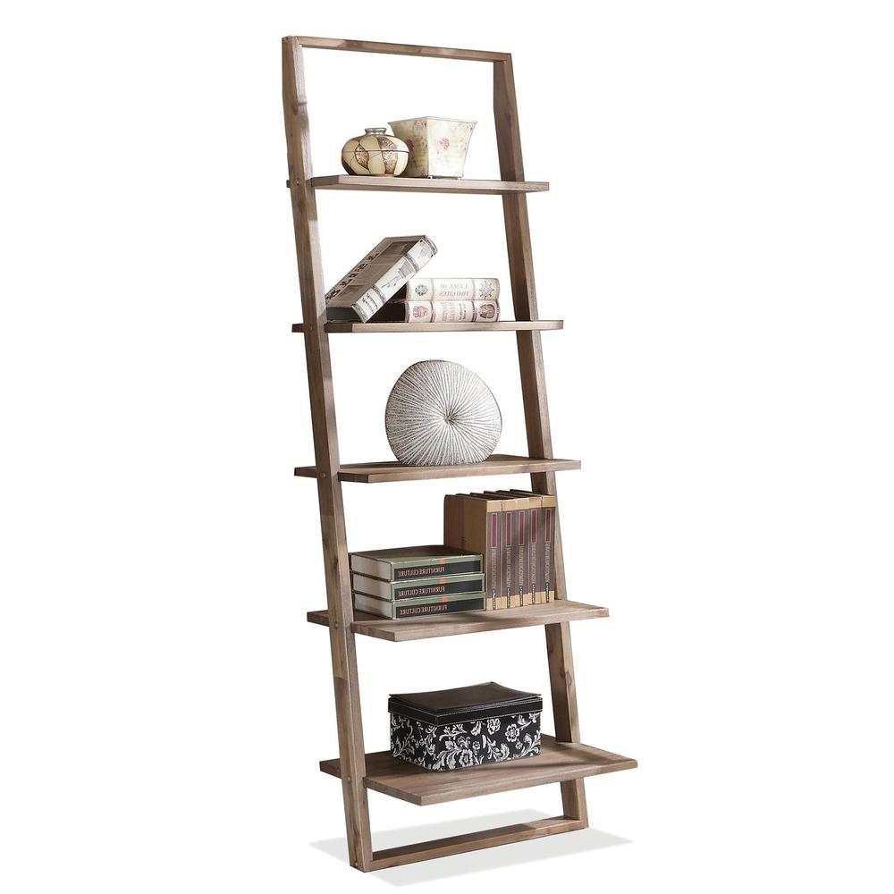 Riverside Furniture - Lean Living Leaning Bookcase