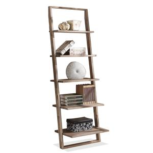 Thumbnail of Riverside Furniture - Lean Living Leaning Bookcase