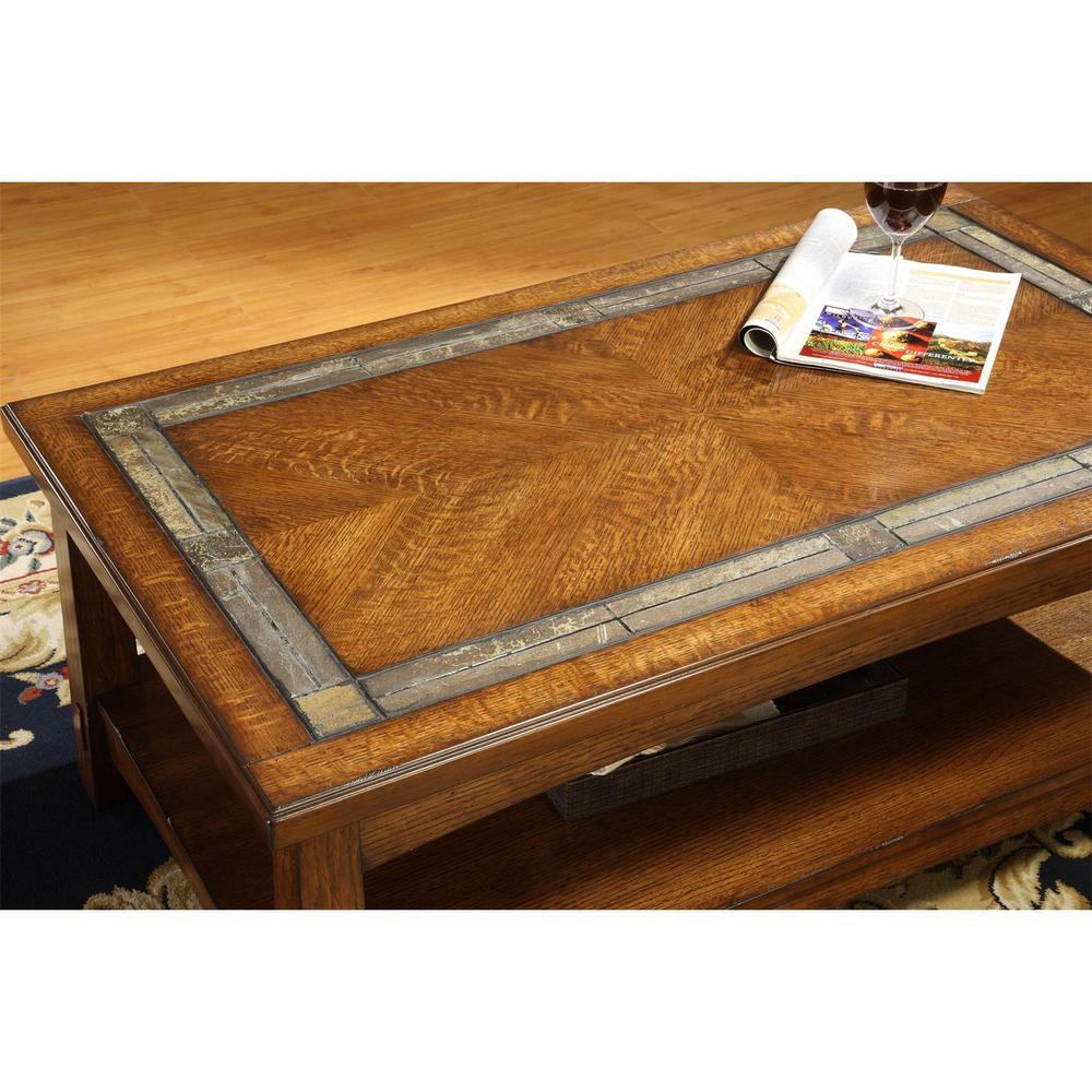 Riverside Furniture - Craftsman Home Coffee Table