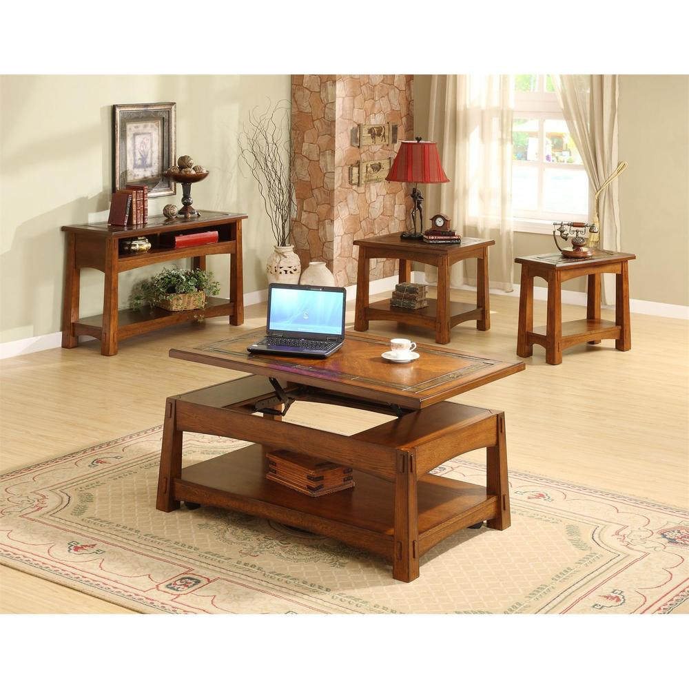 Riverside Furniture - Craftsman Home Lift Top Coffee Table