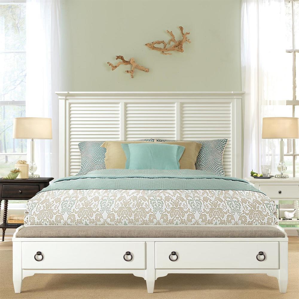 Riverside Furniture - Louver Storage Bed