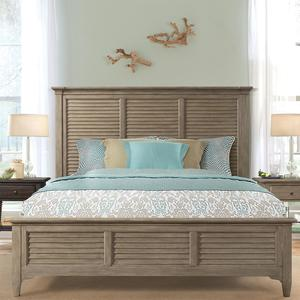 Thumbnail of Riverside Furniture - Louver Bed