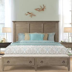 Thumbnail of Riverside Furniture - Louver Storage Bed