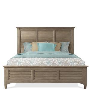 Thumbnail of Riverside Furniture - Louver Bed
