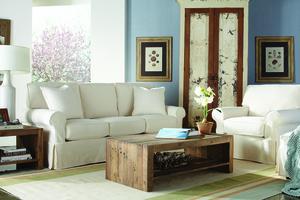 Thumbnail of Rowe/Robin Bruce - 3 Seat Sofa w/ Slipcover