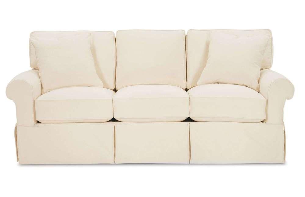 Rowe/Robin Bruce - 3 Seat Queen Sleeper w/ Slipcover