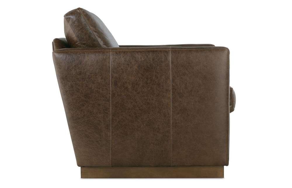 Rowe/Robin Bruce - Allie Leather Swivel Chair