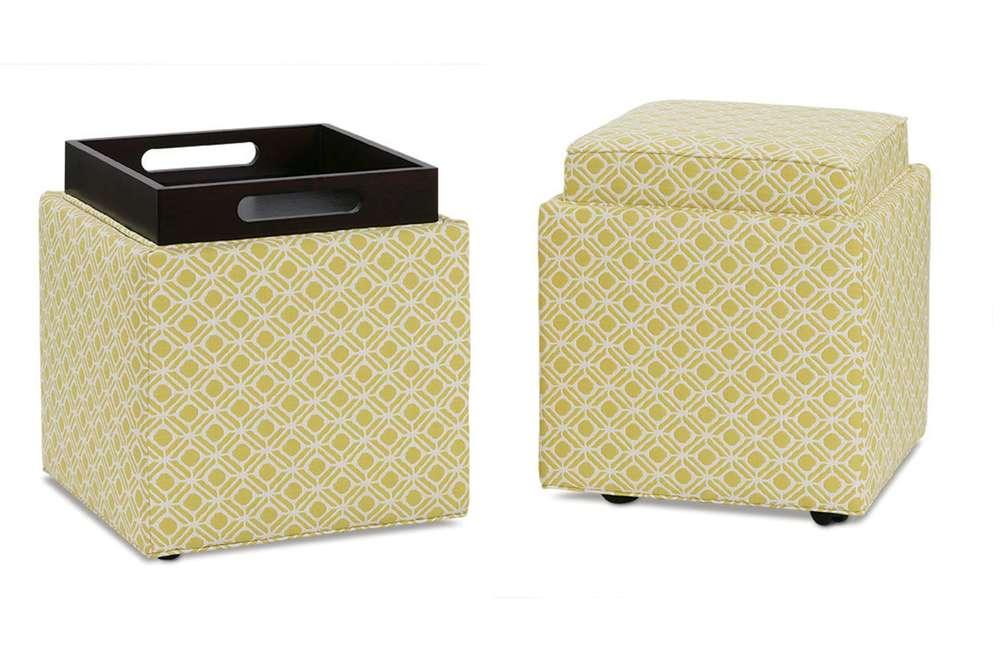 Rowe/Robin Bruce - Storage Cube Ottoman